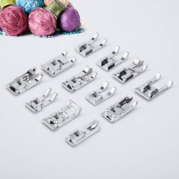 11/32/48/52/62pcs Sewing Machine Supplies Presser Foot Feet for Sewing Machines Feet Kit Set With Box For Brother Singer Janome 5